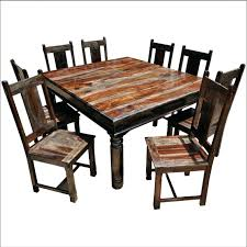 Rustic Square Kitchen Table Tables Club On The Best Seater Dining Ideas Mad