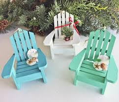 These Super Cute Adirondack Chairs Are A Perfect Christmas Tree Ornament Pick Between Turquoise Aqua Or White Colors Check Them Out Here