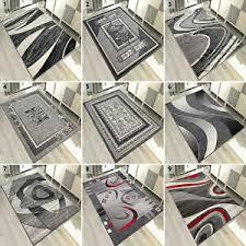 details zu top designer teppich modern teppiche grau 200x300 300x400 160x230 und mehr