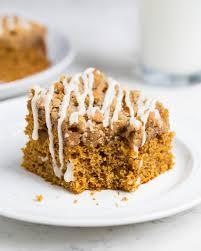 Favorite pumpkin streusel coffee cake I Heart Naptime