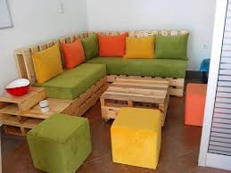 Low Cost Pallet Sectional Sitting Set
