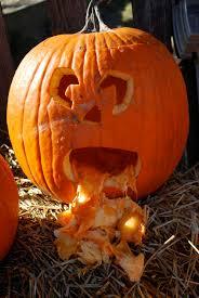 Pumpkin Puke Guacamole by 2shea Creative Pumpkin Carving Templates Jaws Shark Pumpkin