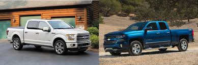 Head To Head: 2016 Ford F-150 Vs. 2016 Chevrolet Silverado 1500 ... 2016 Chevy Silverado 53l Vs Gmc Sierra 62l Chevytv Comparison Test 2011 Ford F150 Road Reality Dodge Ram 1500 Review Consumer Reports F350 Truck Challenge Mega 2014 Chevrolet High Country And Denali Ecodiesel Pa Ray Price 2018 All Terrain Hd Animated Concept Youtube Gmc Canyon Vs Slt Trim Packages Mcgrath Buick Cadillac