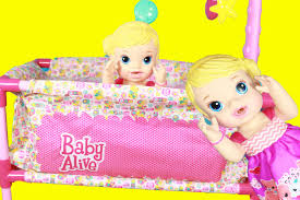 BABY ALIVE Doll NEW Pack N Play Crib Doll Furniture