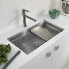Houzer Sinks Home Depot by Water Creation Drop In Zero Radius Stainless Steel 33 In 1 Hole