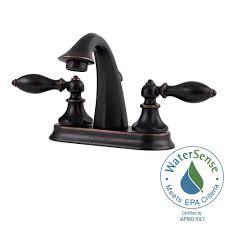 Delta Windemere Bathroom Faucet Bronze by Bronze Centerset Bathroom Sink Faucets Bathroom Sink Faucets