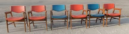 Wh Gunlocke Chair Co Wayland by Six 1977 Gunlocke Mid Century Modern Chairs Nex Tech Classifieds