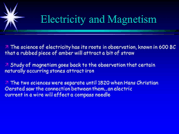 2 Electricity And Magnetism
