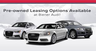 Pre Owned Audi Leasing