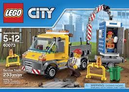 Amazon.com: LEGO City Demolition Service Truck (60073): Toys & Games