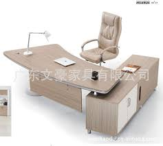 2015 New Arrival Wooden Solid Wood Modern fice Desks fice