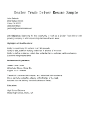 Job Description Truck Driver Download For Resume Dump