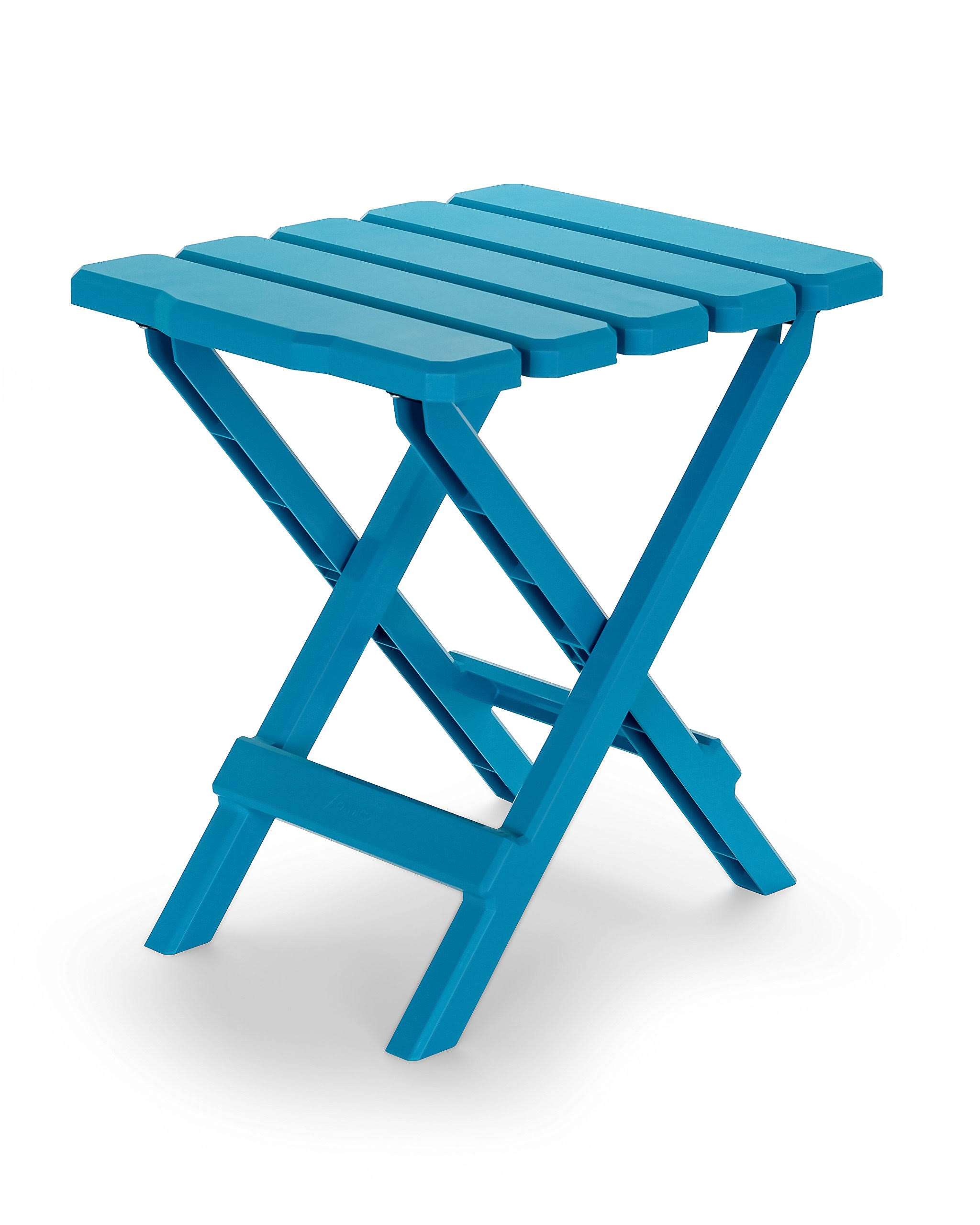 Camco 51680 Adirondack Aqua Folding Table