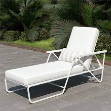 Amazon.com : Novogratz 88063WHT1E Poolside Connie Outdoor Chaise ... Costway Outdoor Chaise Lounge Chair Recliner Cushioned Plastic Patio Lounge Chairs Ace Hdware Beau Sale Patio Bed Modern Shop Home Styles Floral Blossom White Chairs W Marco Island Commercial Grade Whitedupione Poolside Sling Fresh And Theamphletts Covers Agha Interiors At Lowescom Amazoncom 556283 Cheap