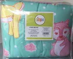 upc 490600212413 kids circo 4 pc forrest friends toddler bed set