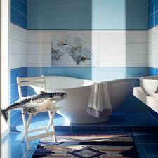 badezimmer fliesen maxima blue tubadzin wand