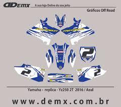 100 Demx REPLICA PRO CIRCUIT YZ 250 2016 HALBERT RYCHTER Halberth