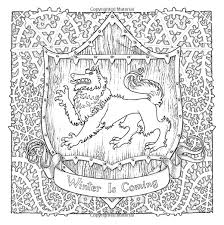 Amazon The Official A Game Of Thrones Coloring Book Song