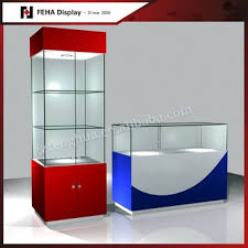 lighted glass display cabinet used glass display cases buy