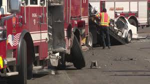 Man Hospitalized After Crashing Car Into Firetruck Driver In Fatal Fire Truck Crash Was Fresh Out Of Jail Nbc 7 San Diego 2 Refighters Killed 3 Hurt As Truck Crashes On Way To Scene Firefighter Injured When Fire Into Car Carrying Family Metal Township Firetruck Driver Crash Car Rear Roxana I255 Fox2nowcom Ks Hurt Apparatus News Drunk Gets Pinned After Slamming Tesla Model S California What We Know So Far Airport Accident Politicsbm Rescue In Miami Youtube Ambulance Collision