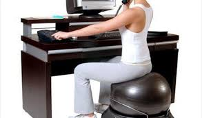 Yoga Ball Desk Chair Size by Yoga Ball For Office Chair Finding Is Your Desk Destroying Your