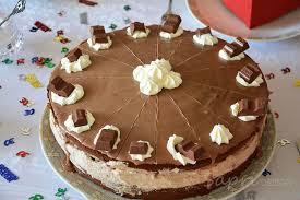 wochenend rezept kinderschokolade torte sapri design