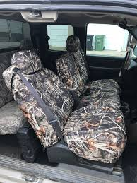 Realtree Camo Seat Covers | Perfect Fit Guaranteed | 1 Year Warranty
