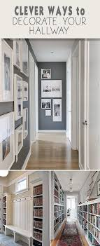 Clever Ways To Decorate Your Hallway O Tips Ideas Tutorials Love The End