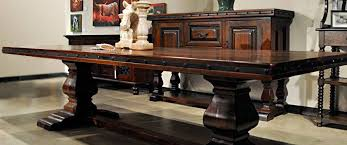 Table Rustic Spanish Style Furniture