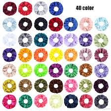 100 Where Is Dhgate Located 2019 2019 New Cross Border New Satin Large Intestine Circle Hair