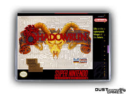 Shadowrun SNES Super Nintendo Game Case Box Cover Brand New ...