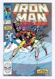 Marvel Comics Iron Man 240 241