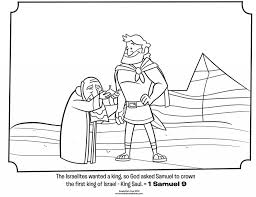 Adult Saul And Samuel Bible Coloring Pages Whats In The Kids Page From Featuring