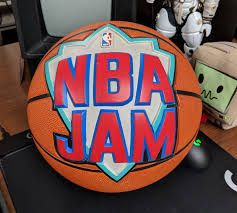 Here's The Actual Basketball From The Cover Of NBA Jam | Kotaku UK Sure Fit 2 Piece Stretch Plush Tdye Chair Cover Design Boards Luna Rosendorff Bonzy Floor Foldable Gaming Adjustable 2234w X 57 D 6 H Orange Soft Suede Cream Short Ding How To Setup An Anywhere Pottery Barn Kids Armless Slipper Slipcovers T Patio Fniture Reviews 2016 Best Outdoor Brands Winter Proof Salt Willow Eucalyptus Oak Small Heavyduty Round Table And Set Kobe Bryant Gets Nba 2k17 Legend Edition Lebron James Nba V Basketball Kicks Lp55 Car Seat Battilo Fluffy Faux Fur Sheepskin Rug Pad Home Carpet Mat For Bedroom Sofa Living Room 61 30 In Throw From Garden Univ Of Wildcatskentucky Basketballsugar Skullsbowheartsmicro Fibercar Coversseat Coversgiftsugar Skull2 Seat
