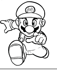 Full Image For Video Game Coloring Pictures Book Pages Free Printable
