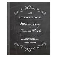 Collect Signatures From Your Wedding Guests With The Fancy Chalkboard Guest Book