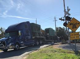 100 Railroad Truck Stuck On The Railroad Tracks In Gulfport