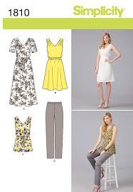 simplicity 1810 misses u0027 u0026 plus size sportswear