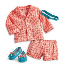 Amazoncom American Girl Tenneys Gingham Pajamas For 18inch Dolls