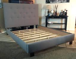 Queen Size Waterbed Headboards by Slat Bed Frame King Bed Frame Twin Full Queen King Zoom Wall Mount