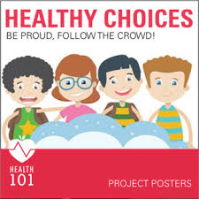 HEALTHY CHOICES Poster Project YOUTH RISK BEHAVIOR SURVEY Health Class