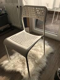 6 ikea stühle stapelstühle garten esszimmer wie neu