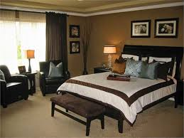 Master Bedroom Curtain Ideas blue and brown bedroom before and after the entire homeu2026