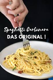 spaghetti carbonara original rezept