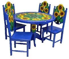 Innovative Ideas Mexican Dining Table Amazing Painted Tables