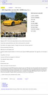 100 Craigslist Eastern Nc Cars And Trucks At 25000 Might This LingenfelterLunged 2003 Chevy Corvette Z06