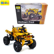 100 Truck Designer 402pcs Block Truck Toy Car Stress Relief Educational Building Blocks