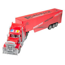 Red 1/15 Scale RC Car Remote Control Big Rig Tractor Truck And ... 6wd Radio Control Remote Rc Trailer Container Truck Fast Lane 110 Scale Ford F150 With Atv On Rc Adventures Beast 4x4 A Cormier Boat Traxxas And Horse Best Resource Custom Built 14 Peterbilt 359 Model Unfinished Man Sarielpl Kenworth Road Train Black Semi 50cm Hauler Transporter Dump With Famous 2018 Rc Scale Truck Trailer Youtube Playz 81132 Fec King Of The 4in1 Kingart 132 6 Chanels Kids Electric Big Detachable Toys Vehicles For Sale Cars Online