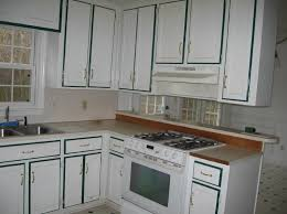 Kitchen1960s Kitchen Cabinets The Feeling Of Classic With White Stripped Designbmp Painting