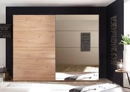 schlafzimmer set orlando schwebetürenschrank 2 türig doppelbett nachtkommode artisan eiche mit spiegel 270cm